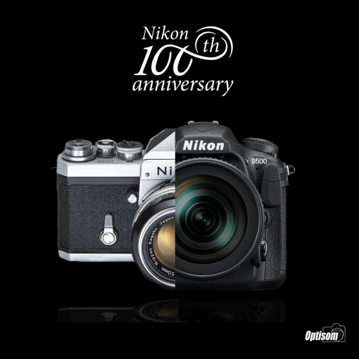 100 anos nikon